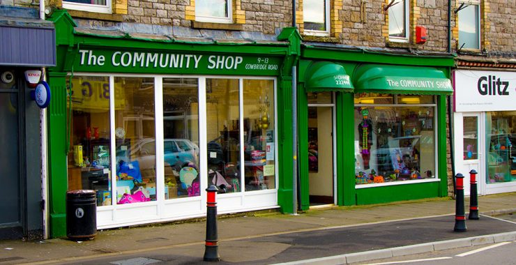 Pontyclun Community Shop Front