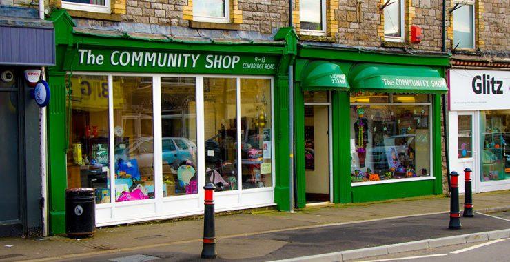 Pontyclun Community Shop Front